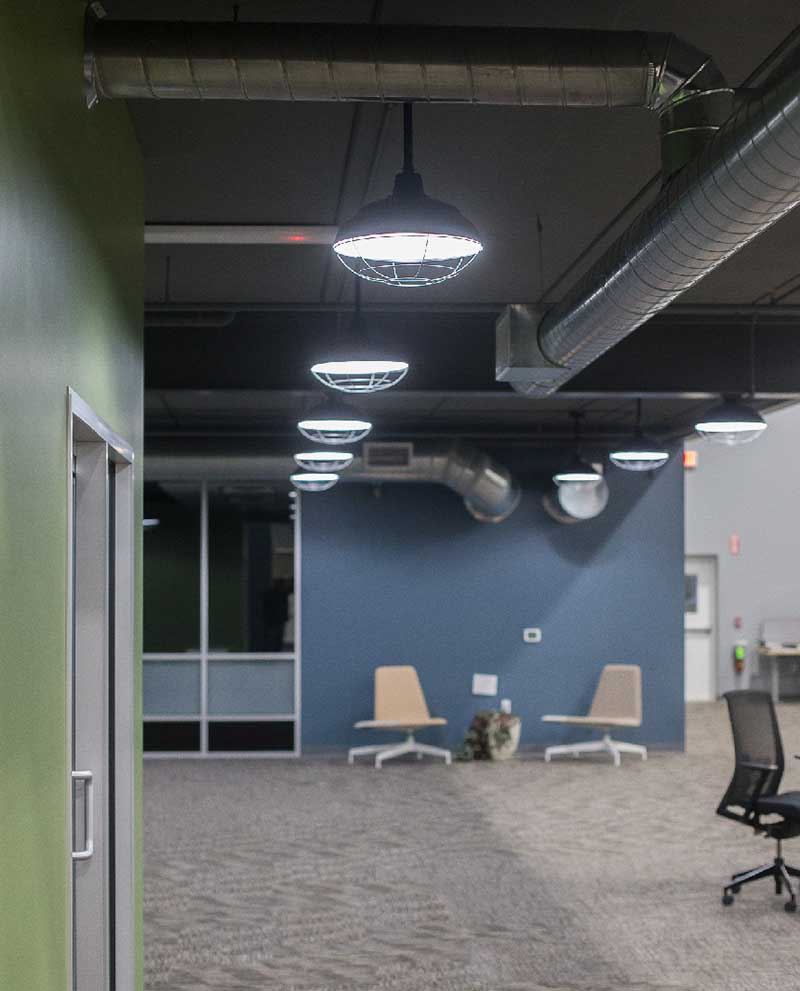 office lighting project